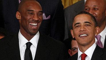 Барак Обама: «Коби был легендой наплощадке итолько начинал второй важный акт вжизни»