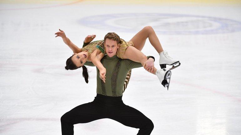 Чемпионат США. Танцы нальду. Мэдисон Чок иЭван Бэйтс. Фото facebook.com/pg/usfigureskating/