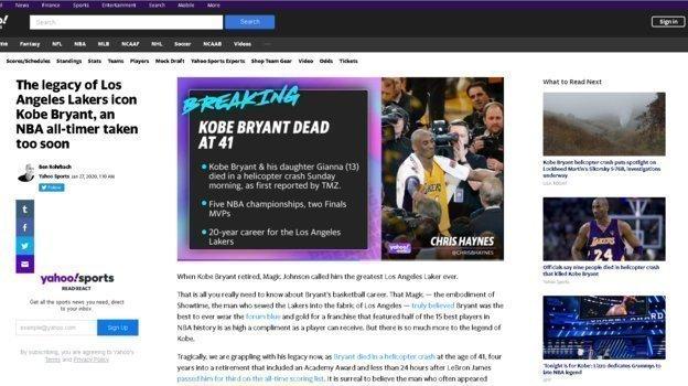 Yahoo Sports.