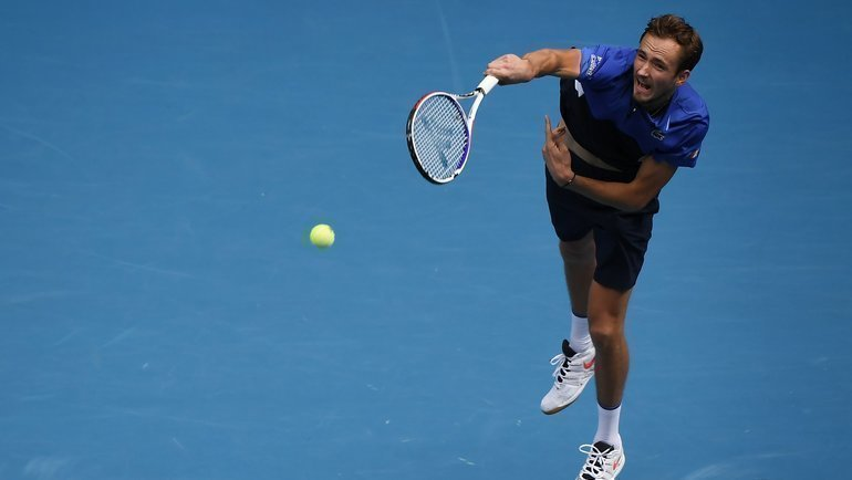27января. Мельбург. Даниил Медведев проиграл Стэну Вавринке ивыбыл изрозыгрыша Australian Open. Фото twitter.com/AustralianOpen