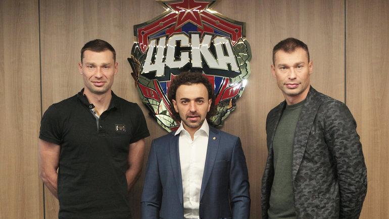 Алексей иВасилий Березуцкие. Фото Twitter ЦСКА.