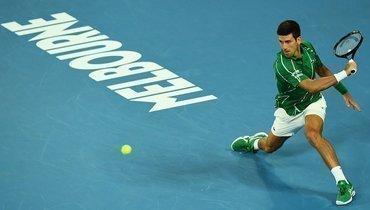 Джокович встретится сФедерером вполуфинале Australian Open