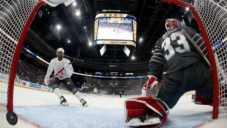 25января. Сент-Луис. Матч всех звезд НХЛ. Фото AFP