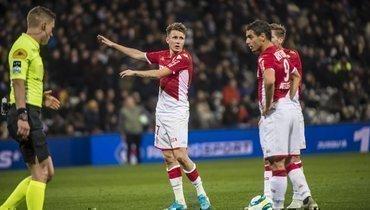 «Монако» подарил победу сопернику наблюдечке»