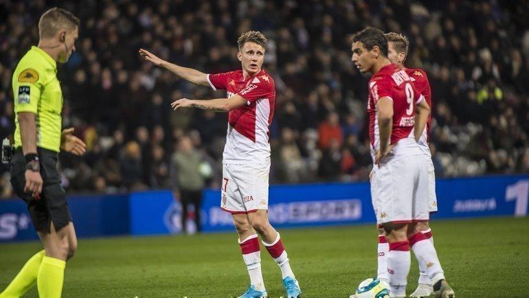 «Монако» проиграл «Сент-Этьену» (0:1) в Кубке Франции. Фото «Монако»
