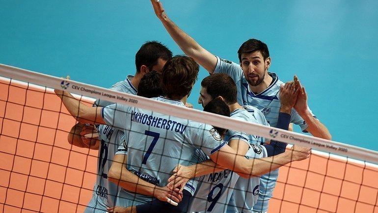 Игроки казанского «Зенита». Фото https://zenit-kazan.com/