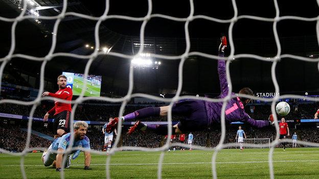 Манчестер Сити— Манчестер Юнайтед— 0:1, кубок лиги, полуфинал, ответная игра, Гвардьола, Сульшер, обзор матча
