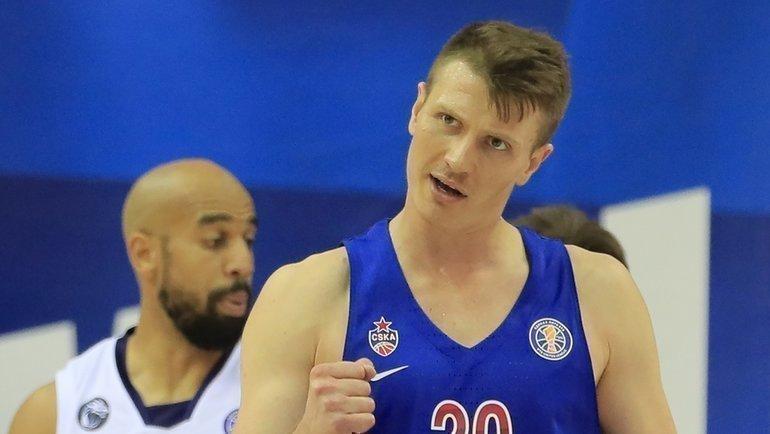 Андрей Воронцевич. Фото ПБК ЦСКА