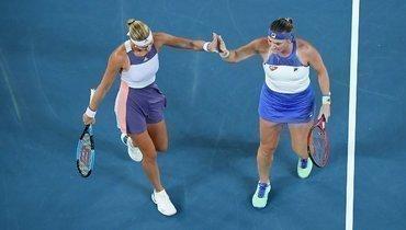 Бабош иМладенович стали победительницами Australian Open впарном разряде