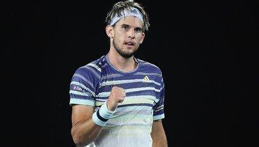 Тим обыграл Зверева ивышел вфинал Australian Open