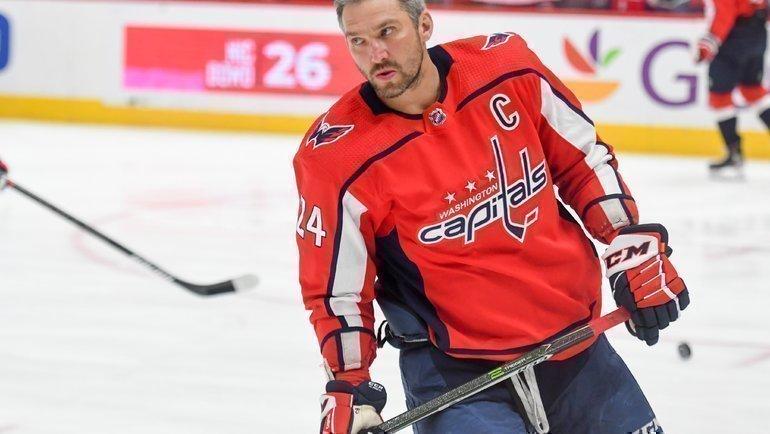 Александр Овечкин. Фото nhl.com