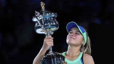 «Яочень скучаю поРоссии». Американка Кенин после победы наAustralian Open