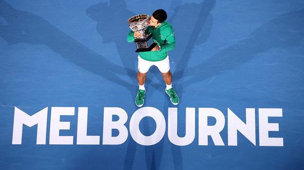 Новак Джокович— победитель Australian Open-2020.