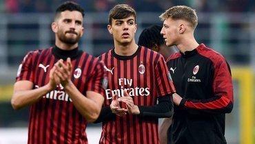 Продолжение традиций: сын Мальдини дебютировал за «Милан»