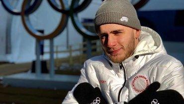 Сноубордист Никита Автанеев.
