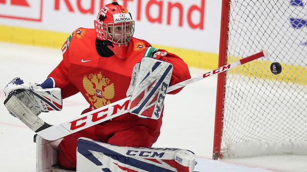 Ярослав Аскаров намолодежном чемпионате мира-2020. Фото ФХР