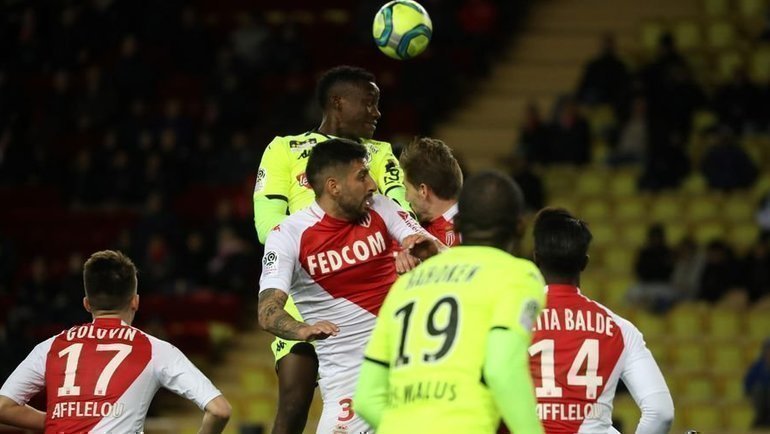 4февраля. Монако. «Монако»— «Анже»— 1:0. Фото AFP