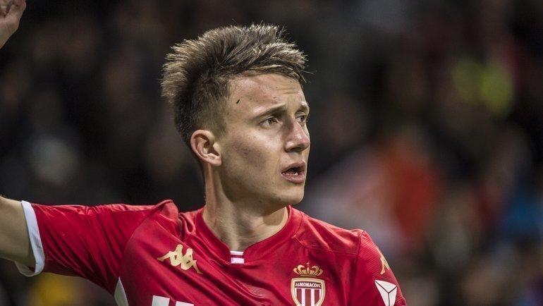 Александр Головин отыграл полный матч против «Анже», аего «Монако» победил 1:0. Фото ФК «Монако»