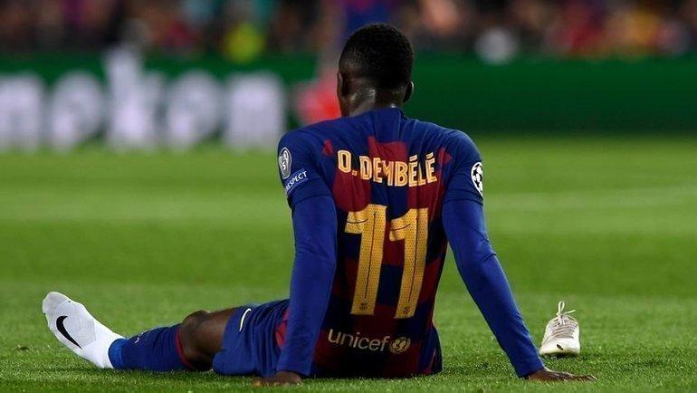 Усман Дембеле. Фото AFP