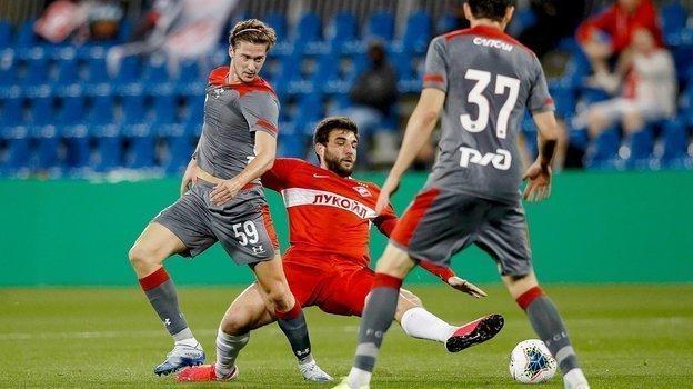 5февраля. Доха. «Спартак»— «Локомотив»— 1:1 (2:4— попен.). Фото ФК «Спартак»