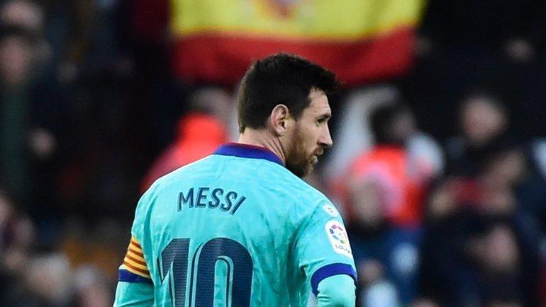Январь 2020 года. Покинетли Лионель Месси «Барселону»?