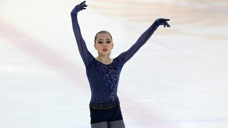 Камила Валиева. Фото Глеб Юрин