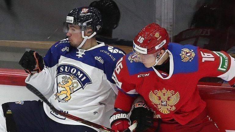 6февраля. Финляндия— Россия— 3:0. Фото ФХР