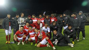 8 лет назад «Спартак» стал победителем Copa del Sol