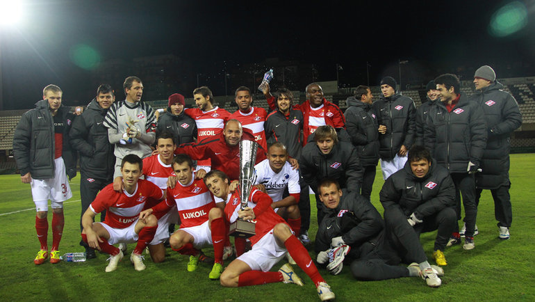 «Спартак» скубком Copa del Sol. Фото ФК «Спартак»