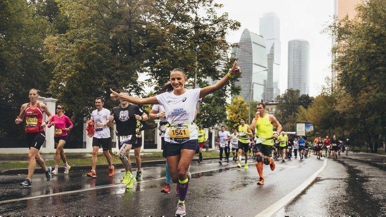 Московский марафон.