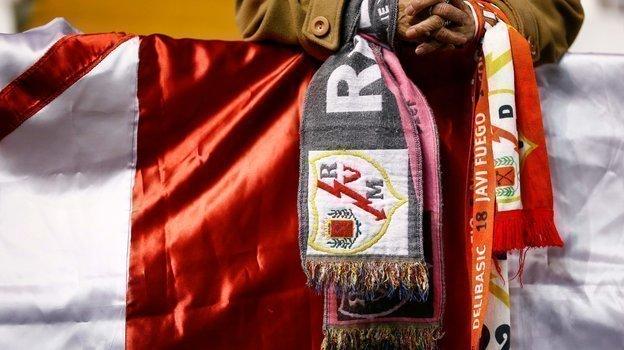Болельщики «Райао Вальекано». Фото AFP