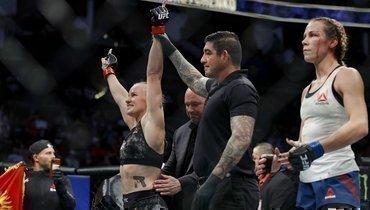 Валентина Шевченко победила Кэтлин Чукагян нашоу UFC 247 вХьюстоне.