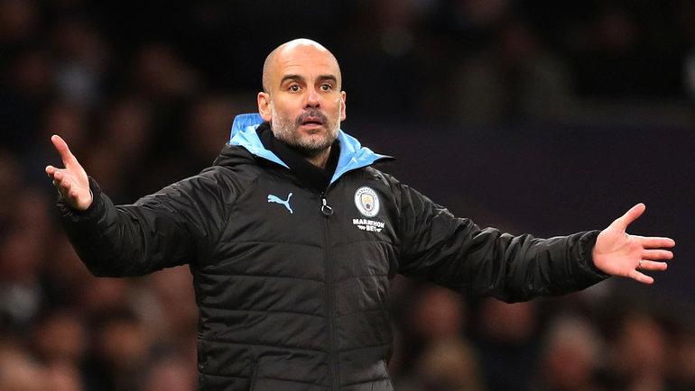 Главный тренер «Манчестер Сити» Хосеп Гвардьола.