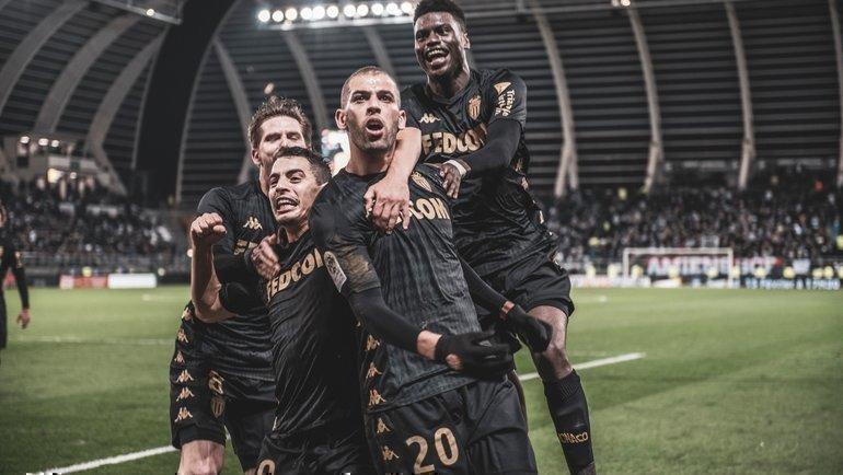 8февраля. Амьен. «Амьен»— «Монако»— 1:2. Фото ФК «Монако»