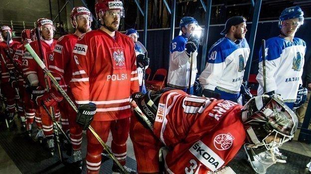 Казахстан проиграл Польше ивылетел изквалификации Олимпиады-2022. Фото twitter.com/IIHFHockey