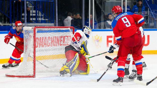 Федор Свечков (справа). Фото ФХР