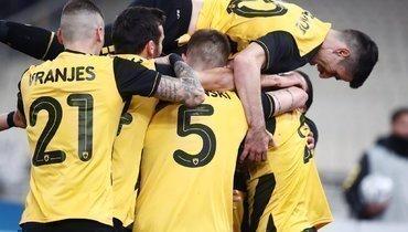 АЕК Карреры сминимальным счетом победил «Панатинаикос»