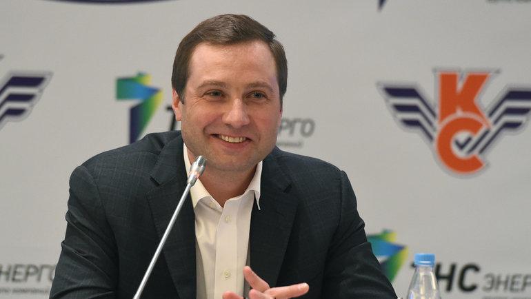 Алексей Морозов. Фото Владимир Беззубов, photo.khl.ru