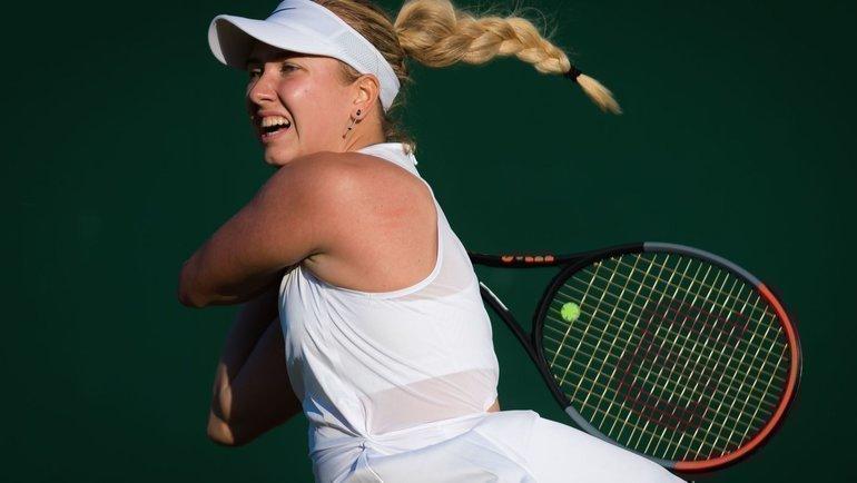 Анастасия Потапова. Фото сайт WTA