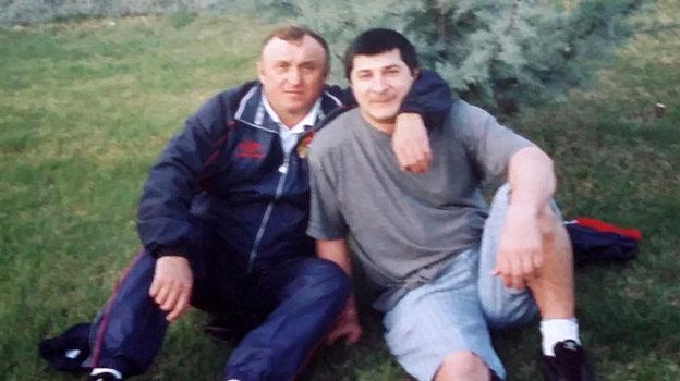 Павел Грачев иШахруди Дадаханов. Фото Изличного архива