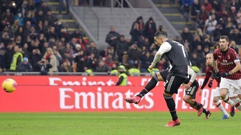 13февраля. Милан. «Милан»— «Ювентус»— 1:1. Фото Juventus