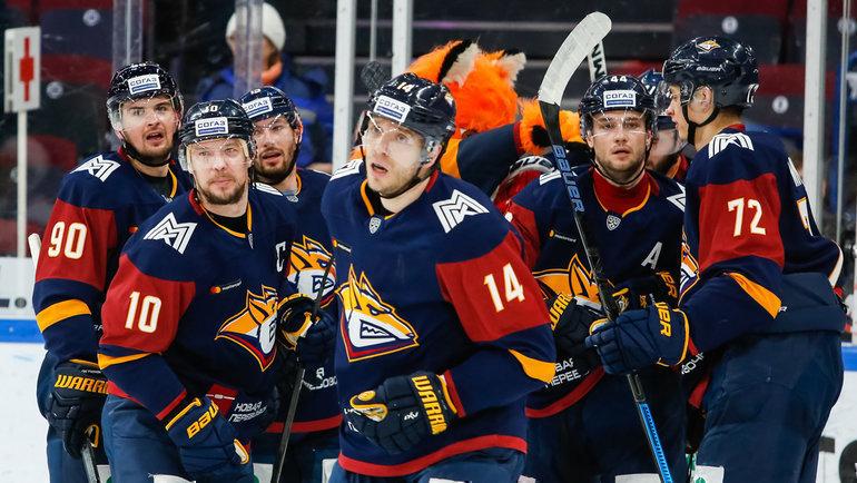 «Металлург» может непопасть вплей-офф КХЛ. Фото ХК «Металлург» Магнитогорск