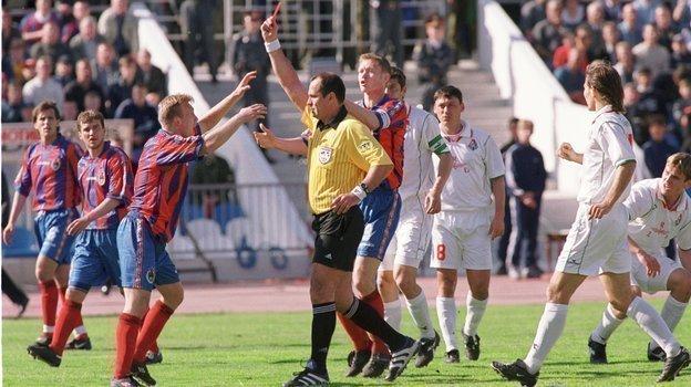 Финал Кубка России-2000 «Локомотив»— ЦСКА, скандальный матч, слова игроков