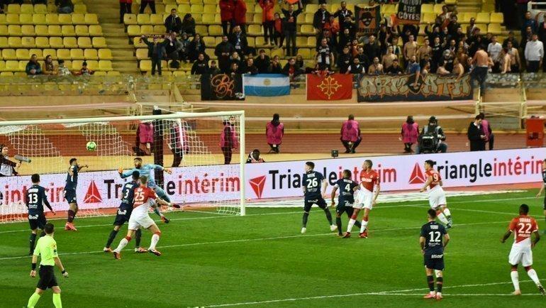 14февраля. Монако. «Монако»— «Монпелье». Ислам Слимани забивает гол.