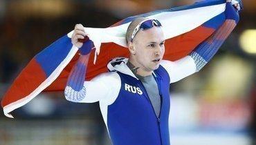 Кулижников выиграл забег на500 метров, Мурашов— 2-й