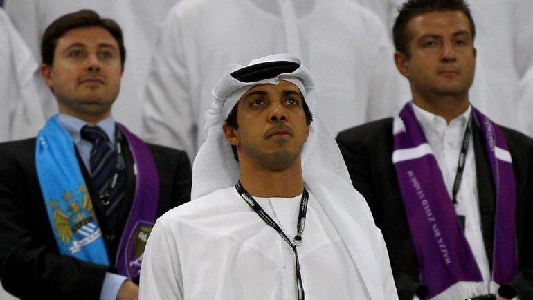 Владелец «Манчестер Сити» Шейх Мансур. Фото Al-Araby