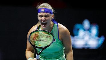 Александрова несмогла пробиться вфинал турнира вСанкт-Петербурге
