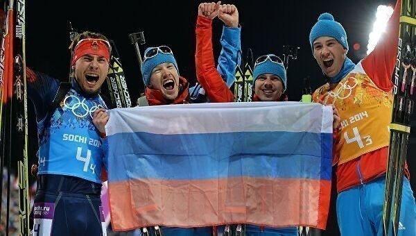 Антон Шипулин, Алексей Волков, Евгений Устюгов и Дмитрий Малышко (слева направо). Фото instagram.com
