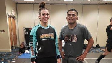 Муж ижена выступили наодном турнире UFC, видео, кто такие Марк иМонтана ДеЛаРоса
