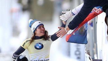 Никитина стала трехкратной чемпионкой Европы поскелетону
